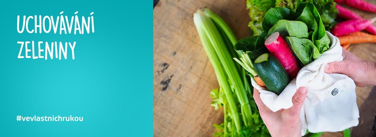 Nabízíme produkty pro uchovávání zeleniny. #VeVlastnichRukou