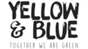 Yellow and Blue logo