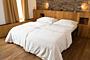 Saténové posteľné obliečky – natural (200×140 + 90×70 cm)